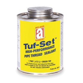 Sealant for Threaded Pipe: Gen Purpose, 300 psi Max Op Pressure for Gases, 10000 psi Max Op Pressure for Liquids, Blue, Bottle