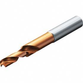 Sandvik Coromant Carbide Chamfered Twist Drill Bit: Steel, Super Life TiAlN, Metric Drill Dia Measurement System, 50 mm Flute Lg