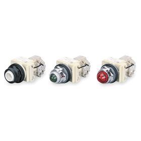 Schneider Electric Pilot Light: Light Block, 120V AC, Transformer, For 120 V DC/120 V AC, Includes Bulb, Chrome Plated