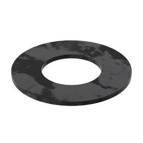 Flat Washer: Steel, Black Oxide, Case Hardened Material Grade, For M12 Screw Size, 13 mm ID, 26 mm OD, 5 PK