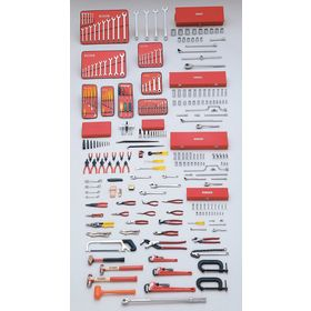 Stanley Proto Master Tool Set: 272 Pieces, Cutters/Drivers/Hammers/Pliers/Sockets/Wrenches, Partial Storage