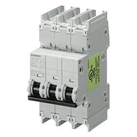 Miniature Circuit Breaker: C, 20 A Current Rating, 240V AC Volt Rating, 60V DC Volt Rating, 3 Poles