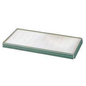 3M Mini-Pleat Air Filter: 24 x 24 x 2 Nominal Filter Size, 11 MERV, With Gasket, 60% to 65% Efficiency, Synthetic, 5 PK
