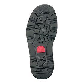 Conductive Work Boot: D Shoe Wd, 11 1/2 Men's Size, Men, Steel, 6 in Shoe Ht, Leather, Brown, 1 PR