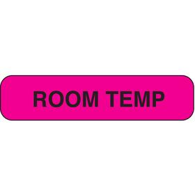 Roll Products Inventory & Inspection Label: Purple, Room Temp, 3/8 in Label Ht, 1 1/2 in Label Wd, Indoor Usage, 1000 PK