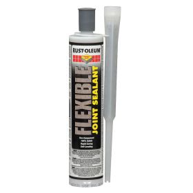 Rust-Oleum Expansion Joint Sealant: 20 min, Gen Purpose, 5.2 linear ft for a 1/4 in Wd x 1 in Dp Joint, 9 fl oz Size