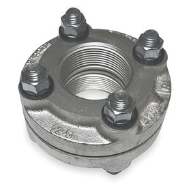 Dielectric Flange: IP, 2 Pipe Size, Gray Cast Iron x Gray Cast Iron, Polysulfone Insulator, 175 psi Max Op Pressure