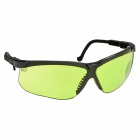 Honeywell Welding Safety Glasses: Wraparound Frame, Shade 2.0, Scratch Resistant, Black, ANSI Z87.1-2010/CSA Z94.3
