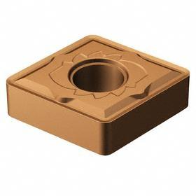 Sandvik Coromant Rhombic (C) 80° Turning Inserts: For Stainless Steel/Steel, CNMG Insert, 16 Seat Size, Medium, 10 PK
