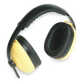 Multiposition Earmuffs: 26 dB Noise Reduction Rating, Yellow, Thermoplastic, Foam, ABS/PVC, Dielectric, ANSI S3.19-1974
