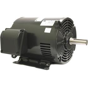 Open Drip Proof AC Motor: Three Phase, 10 hp Output Power, 1770 RPM Nameplate RPM, 254U/256U NEMA Frame Size, CW/CCW