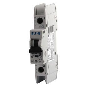 Eaton Miniature Circuit Breaker: C, 5 A Current Rating, 480V AC Volt Rating, 48V DC Volt Rating, 1 Poles