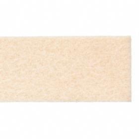 Grade F1 Felt Strip: Plain, 12 in Lg, 1/2 in Thickness, 1 in Wd