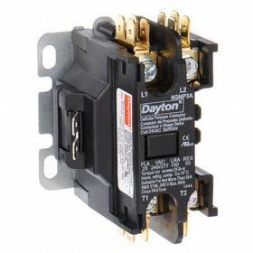 Definite Purpose Contactor: 1 Poles, Std Body, 0.33 A @ 120V AC Input Current, 120V AC Input Volt, Single Phase