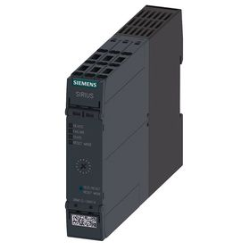 Siemens IEC Motor Starter: 0.1 A Min Overload Current, 0.5 A Max Overload Current, 110 to 240V AC/DC Input Volt, 22.5 mm Overall Wd, Open, Gray