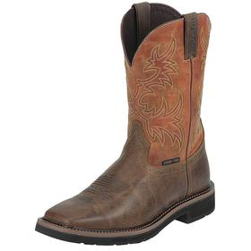 Chemical Resistant Work Boot: Western Boots, D Shoe Wd, 12 Men's Size, Men, Composite, 11 in Shoe Ht, Leather, 1 PR