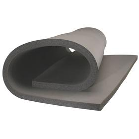 Sound Insulating Duct Liner: Pressure-Sensitive Adhesive, 1 in Thickness, 56 1/4 in Wd, 100 ft Lg, -40° F Min Op Temp, Gray
