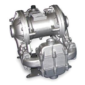 Air-Operated Double Diaphragm Pump: 42 gpm Max Flow Rate