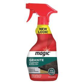 Magic Stone Cleaner & Polisher: Ready to Use, 14 fl oz Size, Trigger Spray Bottle