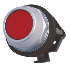 Eaton Push Button: 12 A @ 600V AC Contact Rating, Flush Operator, Non-Illuminated, 1NO/1NC Pole-Throw Configuration, Red
