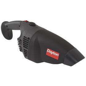 Vacuum Cleaner: Handheld, Corded Power Source, 1/4 gal Tank Dry Capacity, 120V AC, 18 ft Cord Lg, 3 Prong