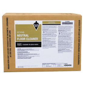 Floor Cleaning Solution: For All Hard Flooring, 5 gal Size, Box