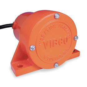 Low-Vibration AC-Powered Surface Mount Electric Vibrator: 60 lb Max Force Rating, Heavy Duty Totally-Enclosed Fan-Cooled