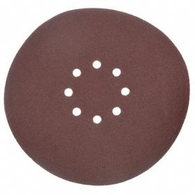 BN Products Hook & Loop Sanding Disc: Fine Relative Grit Grade, 8 Vacuum Holes, 10 in Disc Dia, Sand, 120 Grit, 10 PK