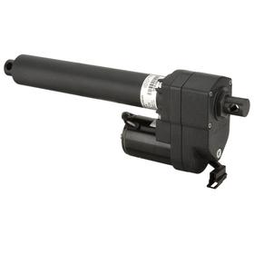 Warner Linear Linear Actuator: 12V DC Input Volt, 2800 lb Load Capacity, 4 in Stroke Lg, 12 in Retracted Lg, 25 A Current
