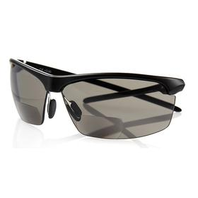 Optx 20/20 Safety Glasses: Gray, Full Frame, Anti-Fog, Black, ANSI Z87.1-2010, 3.00 Diopter Magnification/Diopter