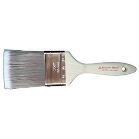 Benjamin Moore Varnish Paint Brush: Wood, Copper, 1 1/2 in Brush Wd, 2 1/4 in Brush Lg, 1/2 in Brush Thickness, Natural