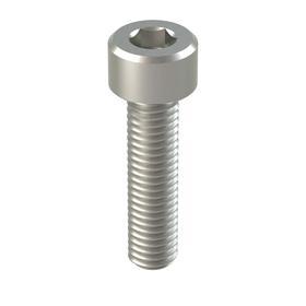 Socket Cap Screw: NL-19, 18-8 Stainless Steel, M5 Thread Size, 0.8 mm Thread Pitch, Fully Threaded, 8.5 mm Head Dia, Hex, 100 PK