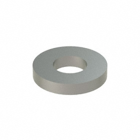 Flat Washer: 18-8 Stainless Steel, For 5/16 in Screw Size, 0.344 in ID, 0.75 in OD, 0.125 in Thickness, 10 PK