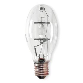 GE Elliptical HID Bulb: Metal Halide, Clear, ED28, E39, 400 W Watt, 38000 lm, 65 Color Rendering Index