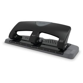 Manual Paper Hole Punch: 3 Holes, 20 Sheet Capacity, Fixed