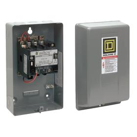 Schneider Electric NEMA Magnetic Contactor: 3 NEMA Size, 3 Poles, 90 A Input Current, 120V AC Input Volt, Three Phase