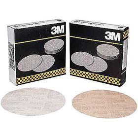 3M PSA Sanding Disc: Film, Ultra Fine Relative Grit Grade, 0 Vacuum Holes, 6 in Disc Dia, 1000 Grit, Finishing, 400 PK
