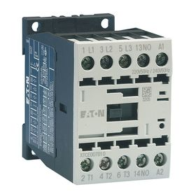 Eaton IEC Magnetic Contactor: 3 Poles, Single/Three Phase, 15.5 A Current Rating, 120V AC Control Volt, Industrial User's & OEM's