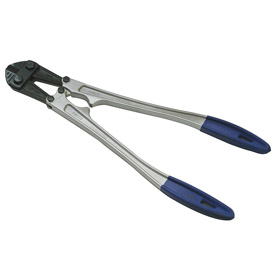 Medium-Duty Bolt Cutter: Center Cut, Steel, 1/8 in Cutting Capacity, 5 AWG For Wire Thickness, 14 in Overall Lg
