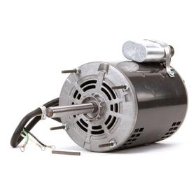Open Drip-Proof Direct-Drive Blower Motor: Direct Drive Fan/Blower, 1/3 hp Output Power, 1100 Nameplate RPM, ODP, 115V AC