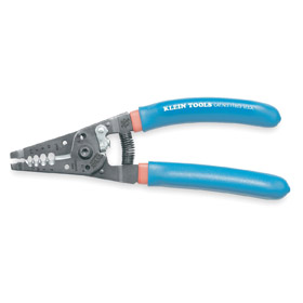 Klein Tools Stripper for Wire: Manual, 6 AWG For Max Solid Wire Size, 12 AWG For Min Solid Wire Size