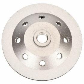 "Diamond Vantage Diamond Segment Wheel: Coarse Relative Grit Grade, 4 in Wheel Dia, 5/8""-11 Center Hole Thread Size"