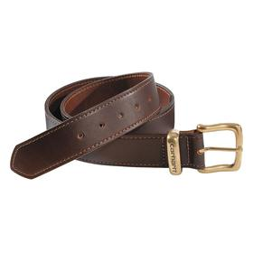 Jean Belt: Brown, 36 in Max Waist Size, Zamac, Leather, Holes at Tip End, Hand Wash, Men, Tanned Bridle Leather
