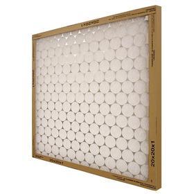 Air Conditioner Filter: 6 MERV, 14 x 30 x 1 Nominal Filter Size, 60 % Arrestance, 350 fpm Max Air Flow, 12 PK