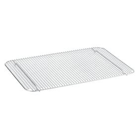 Half Size Wire Grate: Wire Grate Sheet Pan, Aluminum, Grated, 7/8 in Ht, 11 3/4 in Wd, 16 1/2 in Lg