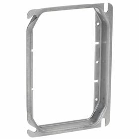 Hubbell Electrical Box Plaster Ring: For 3 Gangs, 5/8 in Overall Wd, 3 7/16 in Overall Ht, 5 7/8 in Overall Dp, Steel