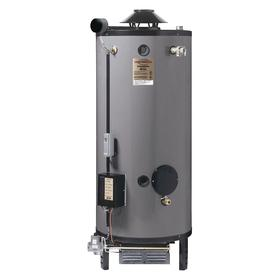 Rheem Ultra Low NOx Commercial Gas Water Heater: 91 gal Tank Capacity, 258 gph First Hour Recovery Rate, 76 5/16 in Ht