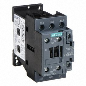 Siemens IEC Contactor: 3 Poles, Single/Three Phase, 25 A Current Rating, 1NC/1NO Auxiliary Contact Pole-Throw Configuration, 85364900 Commodity