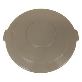Plastic Trash & Recycling Container Lid: For 55 gal Receptacle Capacity