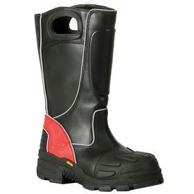 Protective Rubber Boot: Gen Use, E Shoe Wd, 8 1/2 Men's Size, Men, Composite, 15 in Shoe Ht, Black